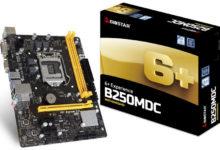 Photo of BIOSTAR anuncia la placa base B250MDC para Intel Core