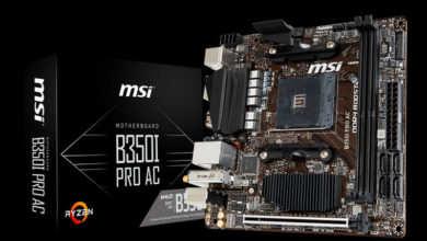 Photo of MSI anuncia la placa base B350I Pro AC con formato mini-ITX