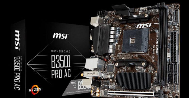 Photo of MSI anuncia la placa base B350I Pro AC con formato mini-ITX