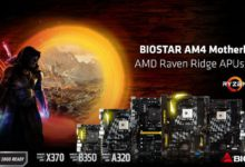 Photo of Placas base Biostar X370-B350-A320 ya son compatibles con Ryzen 2000