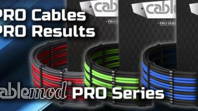 Photo of CableMod presenta los cables y extensiones de la serie CableMod PRO