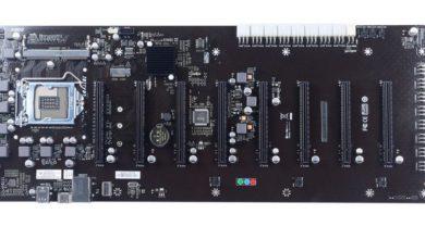 Photo of SUPoX presenta la placa base profesional para minería B250A-BTC D+