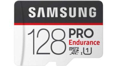 Photo of Samsung anuncia las tarjetas de memoria PRO Endurance