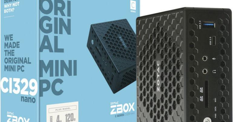 Photo of ZOTAC presenta los mini PC con refrigeración pasiva Serie C