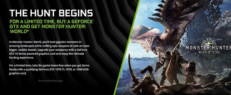 Photo of Monster Hunter World gratis con una GTX 1060, 1070 y 1070 Ti